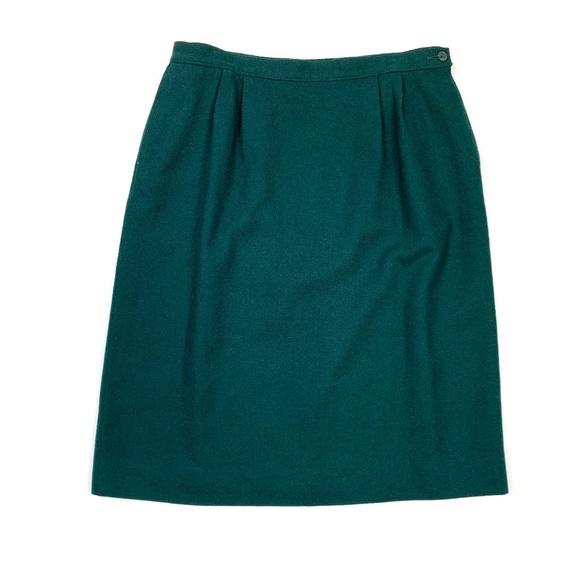 5463bf8b3 Pendleton Skirts | Vtg 80s 90s Petite Retro Wool Skirt | Poshmark
